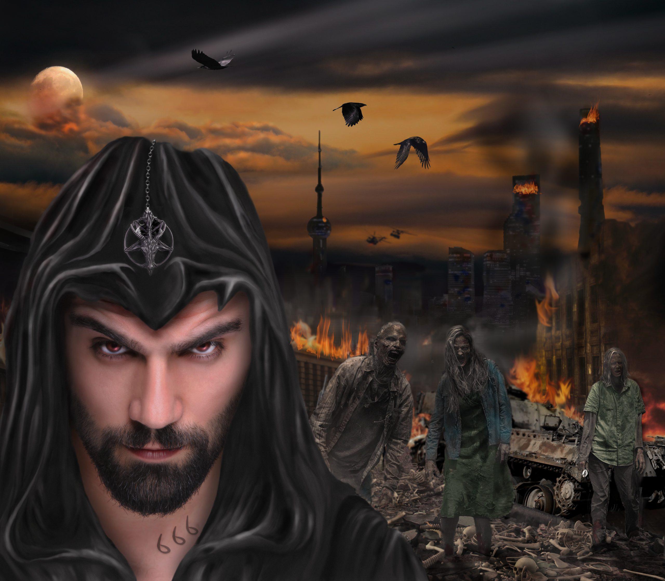 satan, fantasy, death